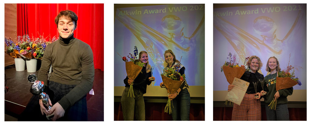 Award winnaars profielwerkstuk